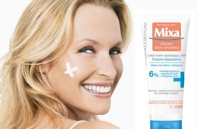 Mixa moisturizing creams